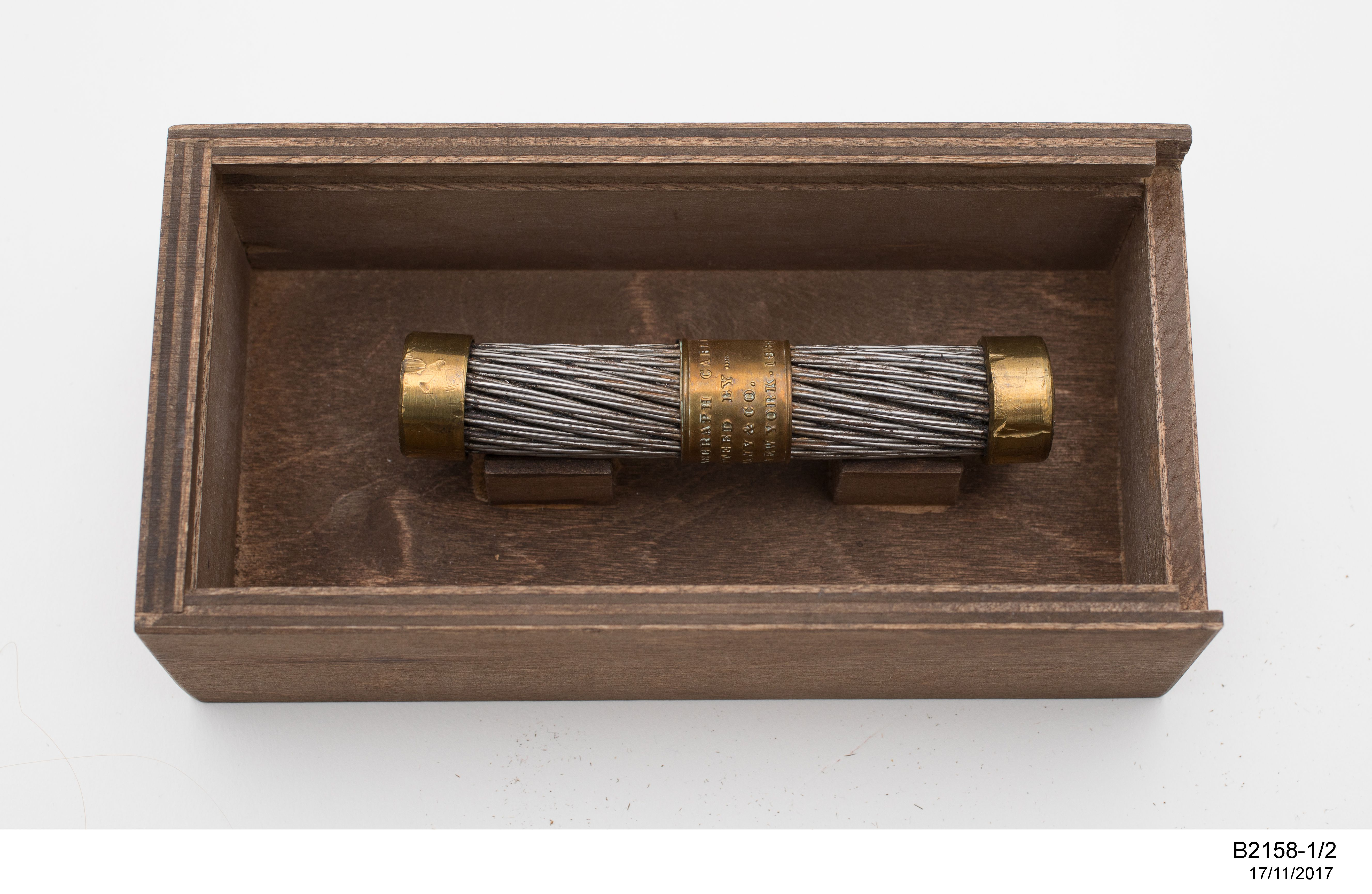 Segment of the original transatlantic cable - MAAS Collection