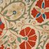 Image 3 of 12, 92/775 Suzani (needlework), embroidered, cotton / silk / glass, Bukhara, Uzbekistan, c.1800. Click to enlarge