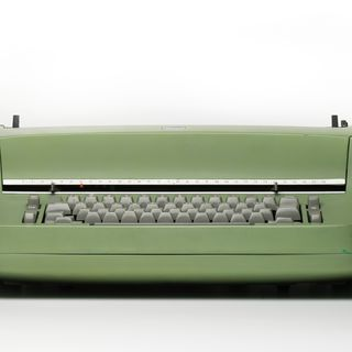 2003/76/3 Typewriter, Selectric 715, metal / rubber / electronic components, designed by Eliot Noyes, made by International Business Machines Corporation (IBM), United States of America, 1961