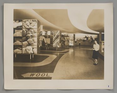 2008/100/1 Photographs (10), Australian Pavilion at New York World's Fair 1939, photographed by Robert E Coates, New York City, New York, United States of America, for the architectural firm Stephenson & Turner, Sydney, New South Wales, Australia, 1939