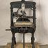 Image 3 of 8, H3408 'Albion' printing press, hand operated, iron, made by A. Wilson and Sons, London, England, 1850, used by Sir Henry Parkes to print the 'Empire' newspaper, Sydney, 1850 - 1856; later owned by Messrs. Craigie and Hipgrave to print the 'Express' newspaper, Armidale, New South Wales, Australia, 18. Click to enlarge