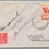 Image 1 of 1, 85/112-8 Philatelic cover, Jubilee air mail Australia to New Zealand, signed by Kingsford Smith, paper, sent by E Crome, Sydney, New South Wales, Australia, 1935. Click to enlarge