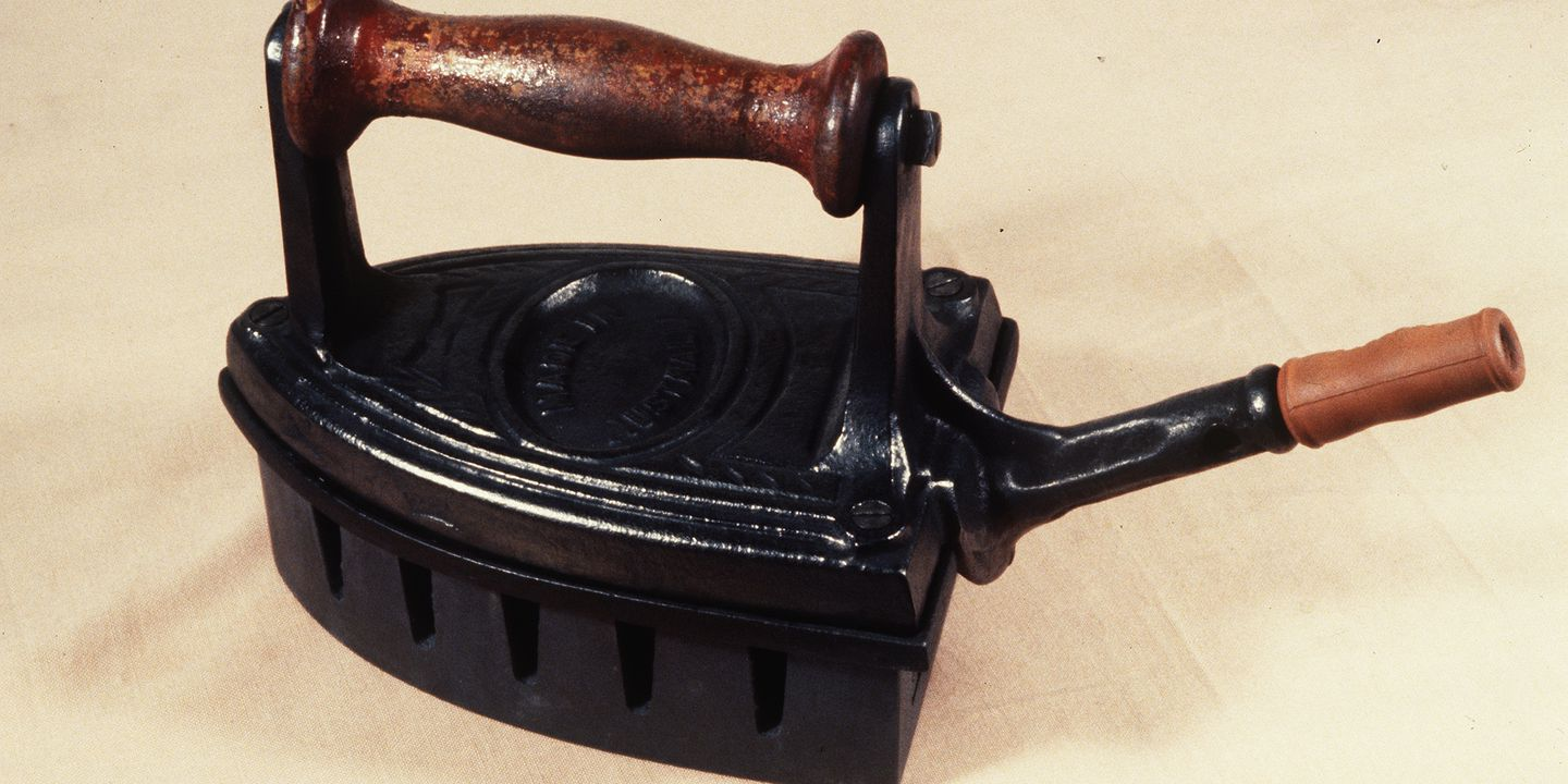 Electric Irons From The 1900s ~ Sagasco gas iron powered cast marked made