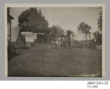2005/124/1-22 Photograph, part of collection owned by James Short, black and white, Tahiti eclipse expedition, paper, photographer unknown, Tahiti, 1908