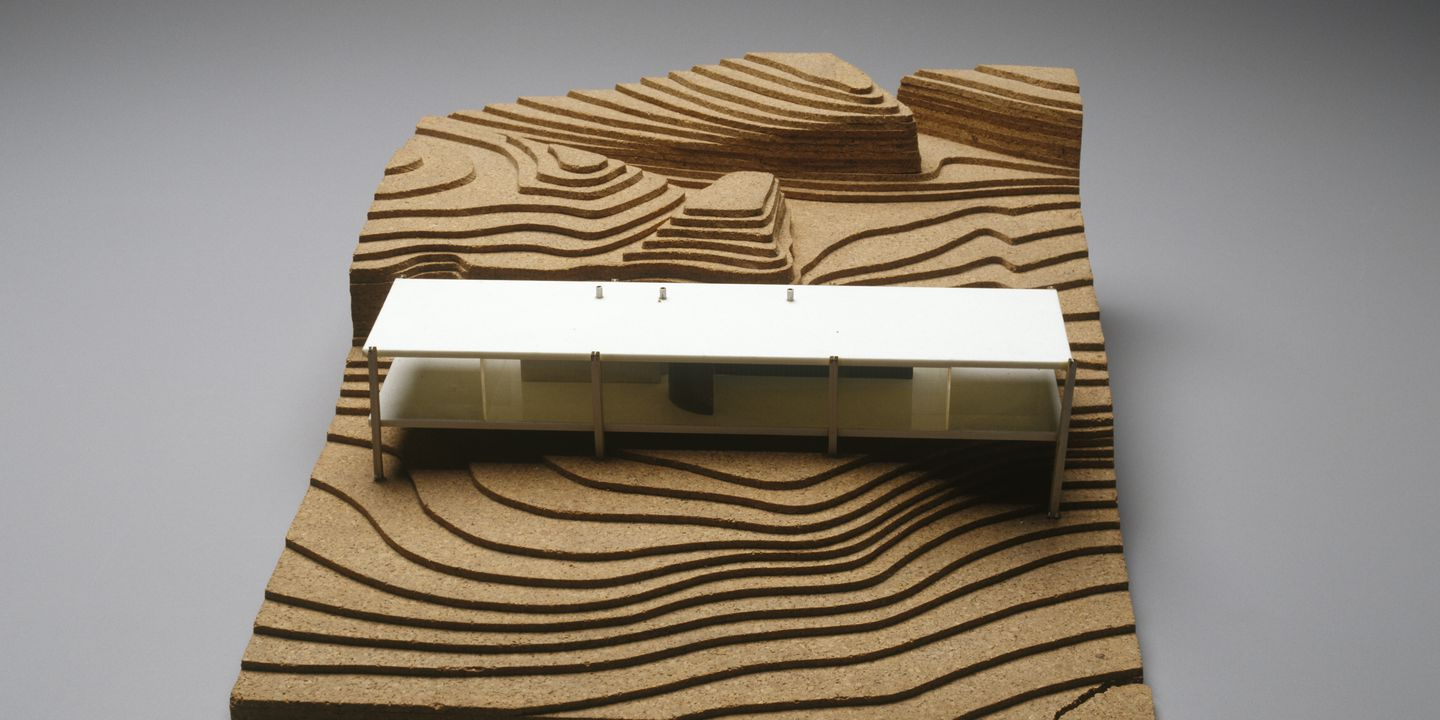 Architectural Model Of Daphne Murcutt S House Maas