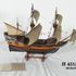 Image 1 of 3, H4515 Ship model, the 'Mayflower' 1620 galleon, made by N Allen, Australia, [1940]. Click to enlarge