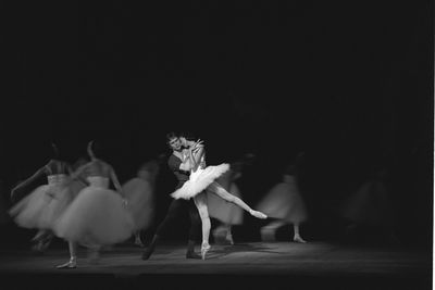 96/44/1-5/4/112/2 Negative, black and white, 35mm acetate film, Australian Ballet Company with guests Dame Margot Fonteyn and Rudolf Nureyev (c1964-66), for the book 'Sydney, A Book of Photographs' (1969), 35mm acetate film, David Mist, Sydney, New South Wales, Australia, 1964-1969