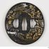 Image 67 of 71, A5308 Collection of 125 tsubas (sword guards), various makers, metal, Japan, 1700-1900. Click to enlarge
