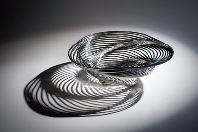 2014/26/1 Fruit bowl, 'Trinity bowl', powder coated, stainless steel, designed and made by Adam Cornish, Melbourne, Victoria, Australia, 2010