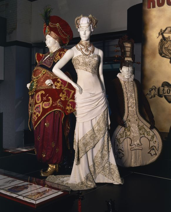 2008/199/4 Film costume, Hindi Wedding, from the movie, 'Moulin Rouge', various materials, designed by Baz Luhrmann / Catherine Martin / Angus Strathie, Sydney, New South Wales, Australia, 2000. Click to enlarge.