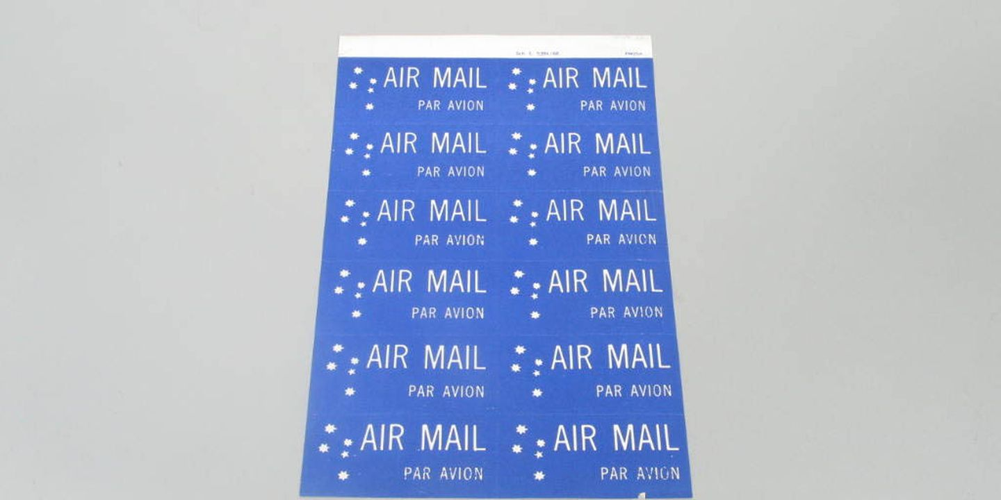 "... usps airmail paravion · ""From Full Coverage to Barely There!""  (Violette79) Tags:"