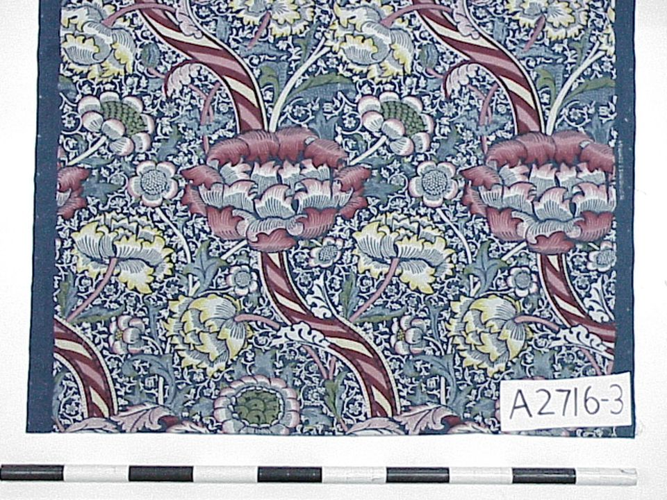 Wandle Modern textile wandle cotton arts and crafts movement designed by