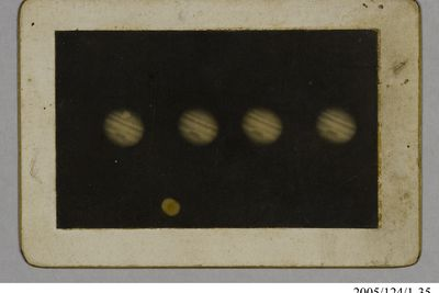 2005/124/1-35 Photographic print, Jupiter, paper, used by James Short, Sydney, New South Wales, Australia, 1906
