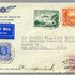 Image 1 of 1, 85/112-6 Philatelic cover, Australia to USA via 'Lady Southern Cross', signed, paper, envelope made for Kingsford Smith Air Service Ltd, Mascot, New South Wales, Australia, 1934. Click to enlarge