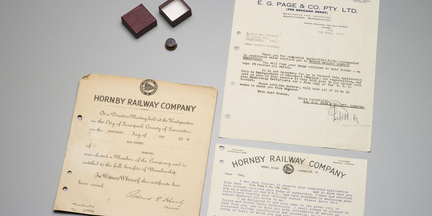 Hornby railway company badge certificate and correspondence hornby railway company badge certificate and correspondence maas collection 1betcityfo Choice Image