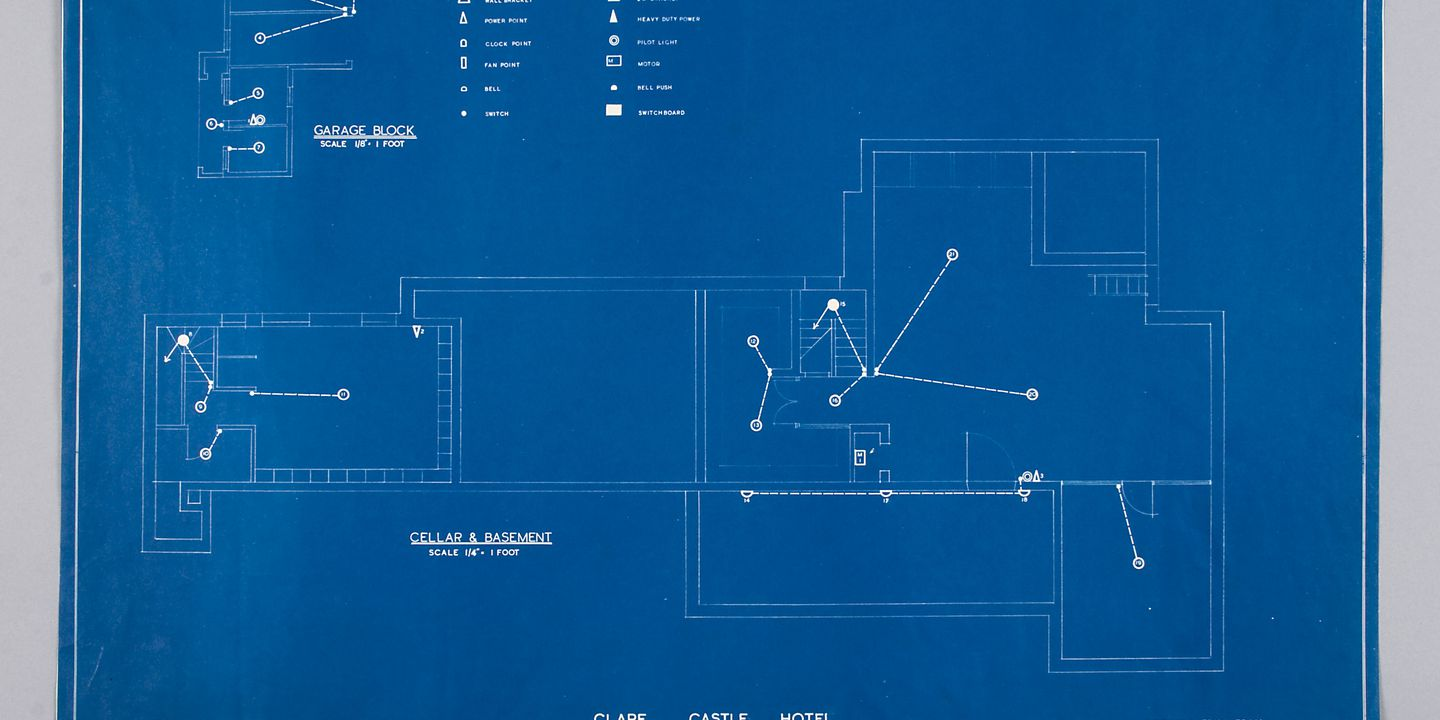 Blueprint electrical layout clare castle hotel raymond terrace blueprint electrical layout clare castle hotel raymond terrace nsw cyril ruwald no date maas collection malvernweather Choice Image