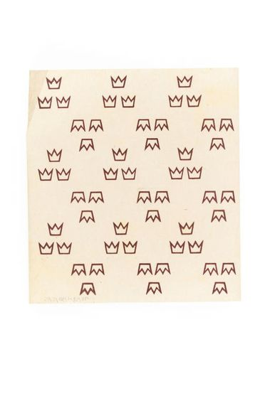 90/58-1/30/5/16 Wrapping paper, design concept, paper, designed by Douglas Annand for Bodega Wine Cellars, Sydney, New South Wales, Australia, c. 1941
