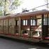 Image 2 of 21, B1519 Tram, full size, electric, O-class, No. 805, 'Toastrack', timber/metal, Meadowbank Manufacturing Co, Meadowbank, New South Wales, Australia, 1909, used in Sydney. Click to enlarge