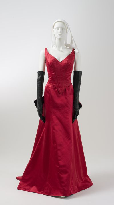 6b321858355 Red Satin costume from the movie Moulin Rouge - MAAS Collection
