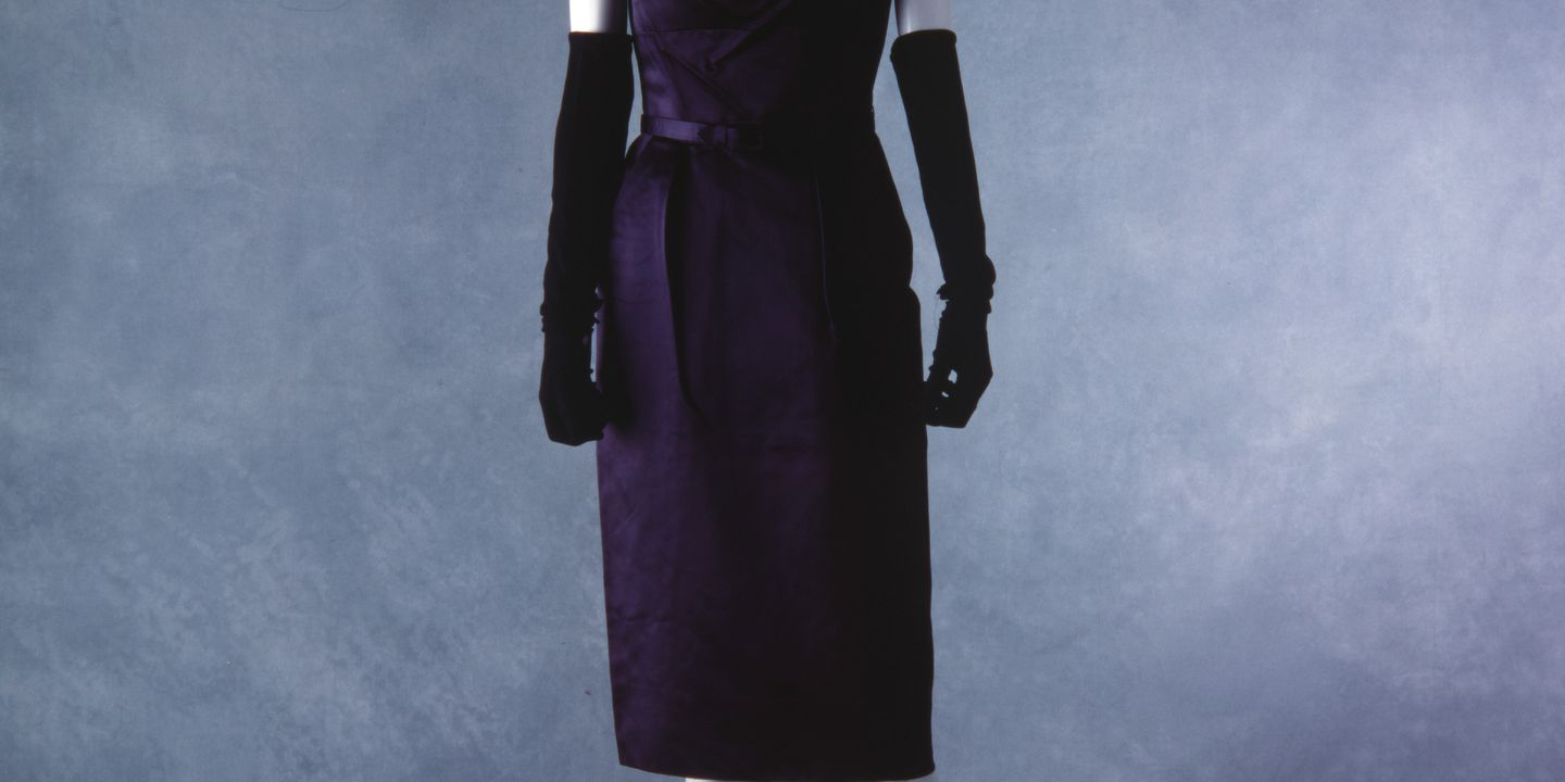 Christian Dior Silk Satin Cocktail Dress For House Of Youth Maas