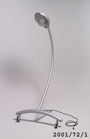 2001/72/1 Floor lamp, 'Super Guppy', metal / glass, designed by Marc Newson, Tokyo, Japan, 1987, made by Idee, Japan, about 2000