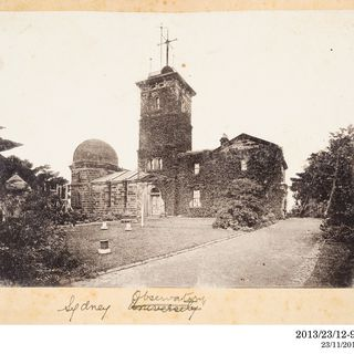 2013/23/12-98 Photographic positive, Sydney Observatory, silver gelatin / paper, photographer unknown, Sydney, New South Wales, Australia, 1893-1920