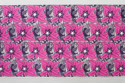 85/2247 Fabric length, 'Phoenix', screenprinted cotton, Frances Burke Fabrics Pty Ltd, Victoria, Australia, 1961