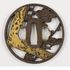 Image 40 of 71, A5308 Collection of 125 tsubas (sword guards), various makers, metal, Japan, 1700-1900. Click to enlarge
