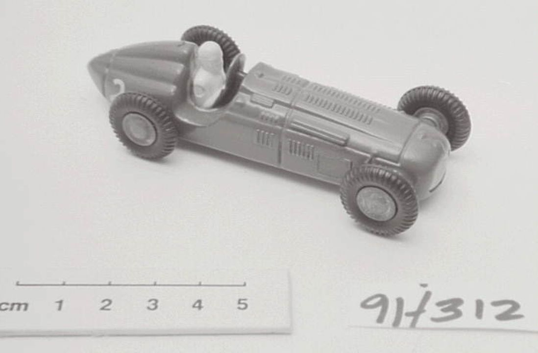 91/312 Toy motor car, 'Micro Models', Talbot Lago Racer, made by Goodwood (Australia) Productions Pty Ltd, Australia, 1952-1961. Click to enlarge.
