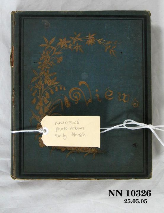 2013/23/12 Photographic album, prints of outdoor views, owned by Emily C Marsh, silver / gelatin / paper / dyes, various photographers, New South Wales, Australia, 1890-1920. Click to enlarge.
