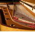Image 23 of 23, 99/88/1 Grand piano with cover, Huon pine / King William pine / casuarina / metal, Stuart & Sons, Newcastle, New South Wales, Australia, 1998-1999. Click to enlarge