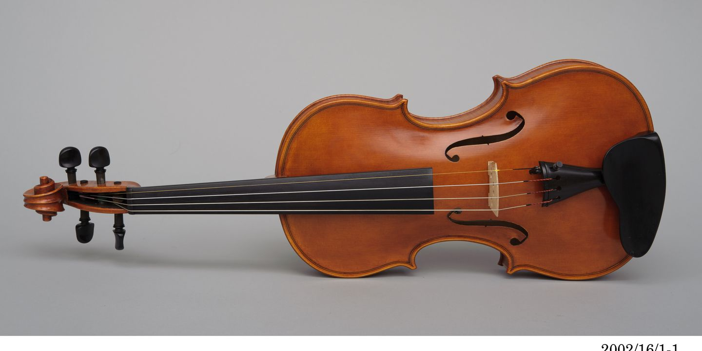 Violin Made By Harry Vatiliotis Maas Collection