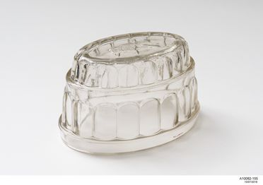A10082 Tableware (264), glass, made by Crown Crystal Glass Company / Australian Glass Manufacturers, Waterloo, New South Wales / Melbourne, Victoria, Australia, c. 1910-1960