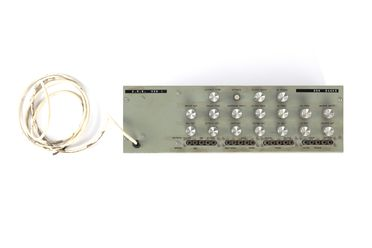 H9953-13 Electronic music synthesiser, part of collection, 'Don Banks Box' (VCS 1), metal / plastic / electronic components, designed and made by David Cockerell / Tristram Cary / Peter Zinovieff, England, 1968, commissioned and used by Don Banks, England 1968-1971 / Australia 1971-1980