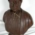 Image 1 of 1, 2013/23/10 Portrait bust, 'Charles Windeyer Esq', painted plaster, made by Charles Abrahams, Sydney, New South Wales, Australia, 1840-1850. Click to enlarge