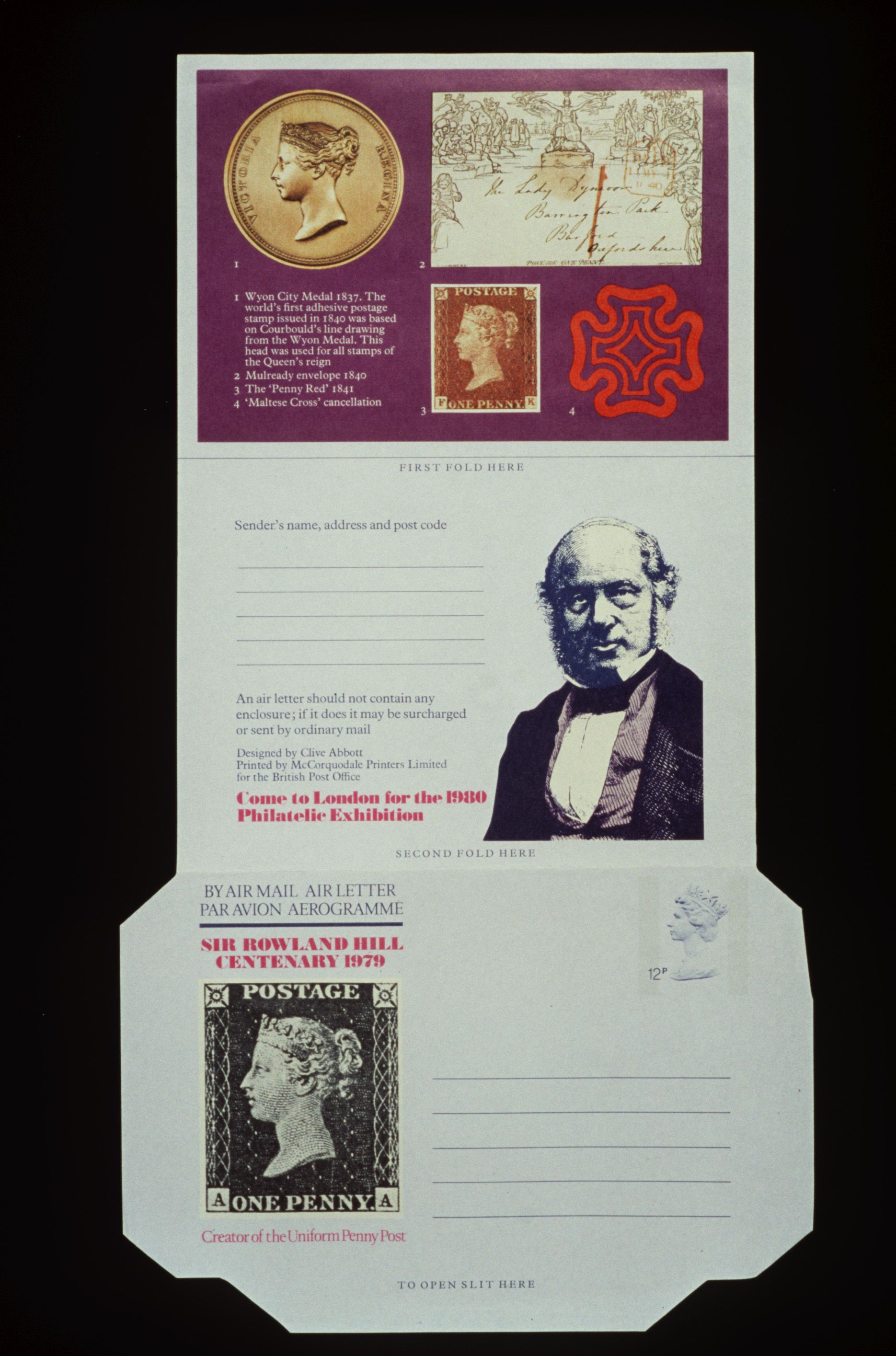 Stamp collection (3 albums), Rowland Hill, paper, various origins