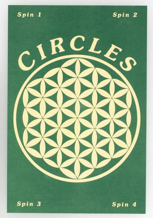 2016/22/1-570 Flyer, promoting 'Circles' dance party, paper, maker unknown, Sydney, New South Wales, Australia, 1995. Click to enlarge.
