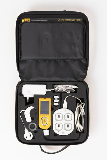 2014/121/1 Cochlear Nucleus CR120 Intraoperative Remote Assistant kit, plastic / metal / electronic components, Cochlear Limited, Sydney, New South Wales, Australia, 2013