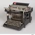 Image 1 of 19, B809 Typewriter, 'Remington No 5', metal / plastic / rubber, made by E Remington & Sons, Ilion, New York, United States of America, distrubuted by Wyckoff, Seamans & Benedict, New York, United States of America, 1887. Click to enlarge
