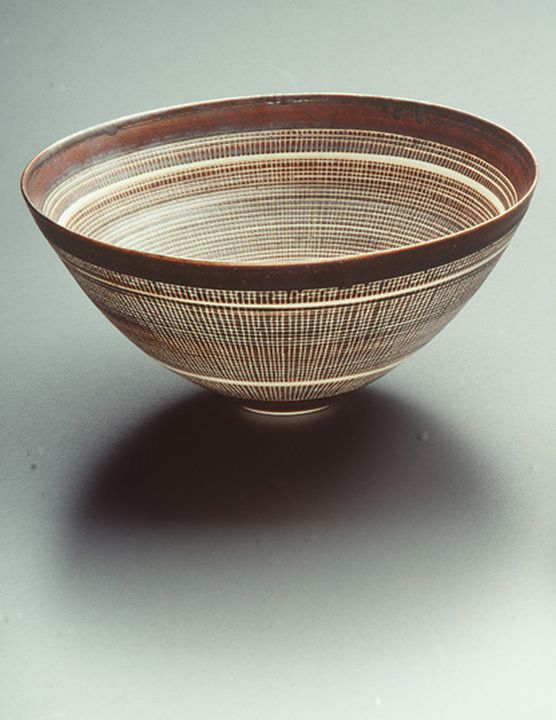 Porcelain Bowl By Lucie Rie Maas Collection