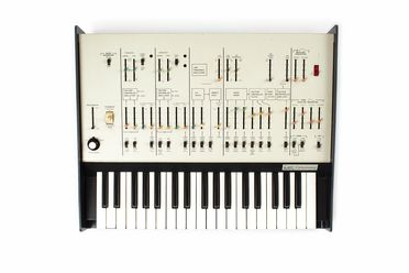 2004/159/1-1 Synthesiser, ARP 'Odyssey' Mk I model 2800, metal / plastic / electronic components, ARP Instruments Inc, Newton, Massachusetts, United States of America, 1972-1974