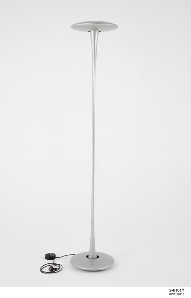 94/101/1 Floor lamp, 'Helice', metal / glass / plastic, designed by Marc Newson, made by Flos, Australia / France / Italy, 1993