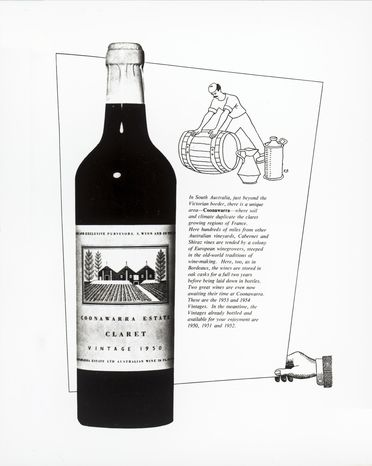 92/1256-8 Design work for S. Wynn & Co Wines, 1950-1970s.