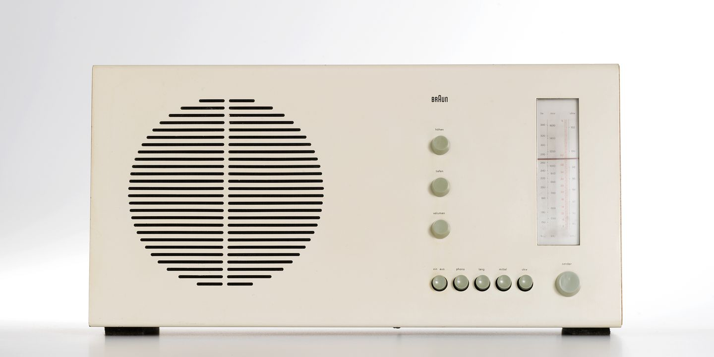 braun rt20 radio designed by dieter rams maas collection. Black Bedroom Furniture Sets. Home Design Ideas