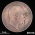 Image 1 of 2, 89/414-94 Coin, Great Britain, Edward VII (1901-1910), Penny, 1907, bronze.. Click to enlarge