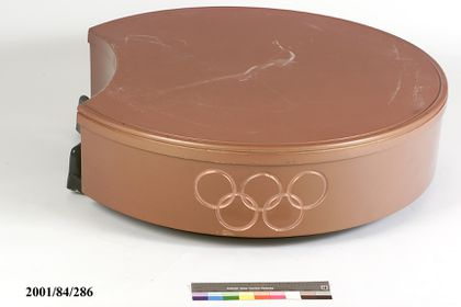Podium, Olympic silver medallist, Sydney 2000 Olympic Games, moulded