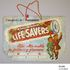 Image 1 of 3, P3390 Showbag, 'Lifesavers', for the Sydney Royal Easter Show, paper / string, made by Wilmers & Gladwin Pty Ltd, Sydney, New South Wales, Australia, c. 1950. Click to enlarge
