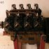 Image 1 of 1, B2540 Aircraft engine, Renault A52, WWI, upright V8, air cooled, eight cylinders, 85 hp, 1800 rpm, steel/cast iron, engine No.2014, made by Wolseley Motors Ltd, Birmingham, England, 1915. Click to enlarge
