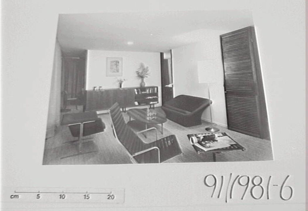 Photographs 7 pettit and sevitt display homes black and white prints max dupain associates sydney australia 1964 printed 1992 maas collection