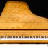 Image 7 of 23, 99/88/1 Grand piano with cover, Huon pine / King William pine / casuarina / metal, Stuart & Sons, Newcastle, New South Wales, Australia, 1998-1999. Click to enlarge